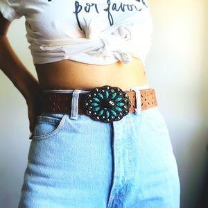 Gorgeous turquoise stones Belt